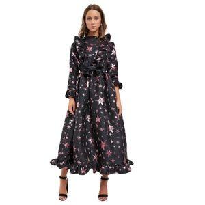 Pink star jacquard dress 💗⭐️